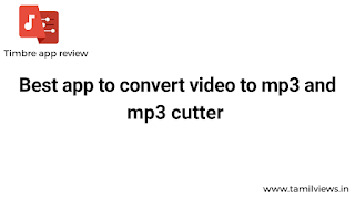 Video to mp3 converter,  and it is cut mp3 songs