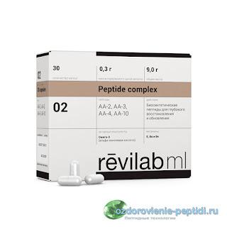 Revilab Peptide МL02 — для системы кроветворения, химиопротектор