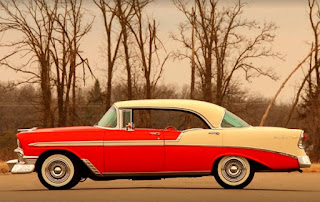 1956 Chevrolet Bel Air 4-Door Side Left