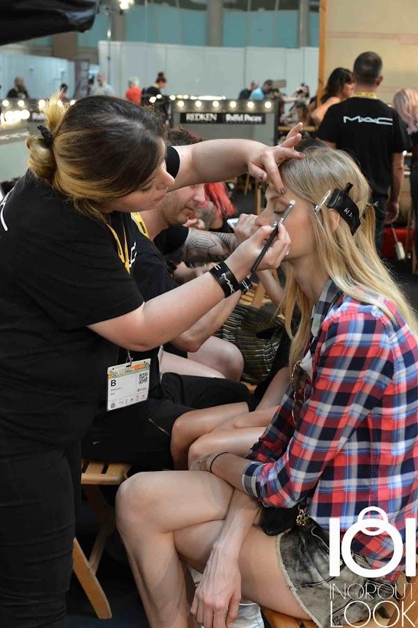 """Backstage 080 Barcelona Fashion Week"""