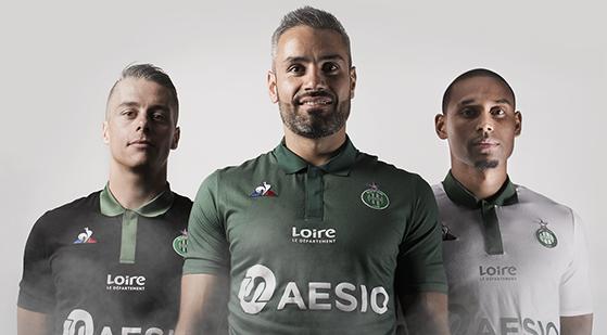 4869851857dc4 AS Saint-Etienne 2018-2019 Le Coq Sportif (FRA)