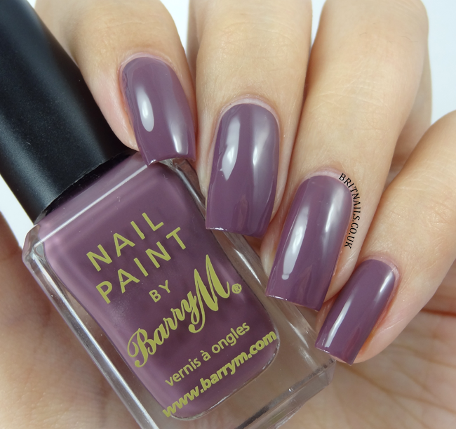 New Barry M Classic Nail Paints - Nightshade, Ballerina ...