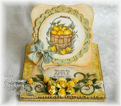 Stamps - Our Daily Bread Designs Apples, ODBD Custom Fancy Foliage Die