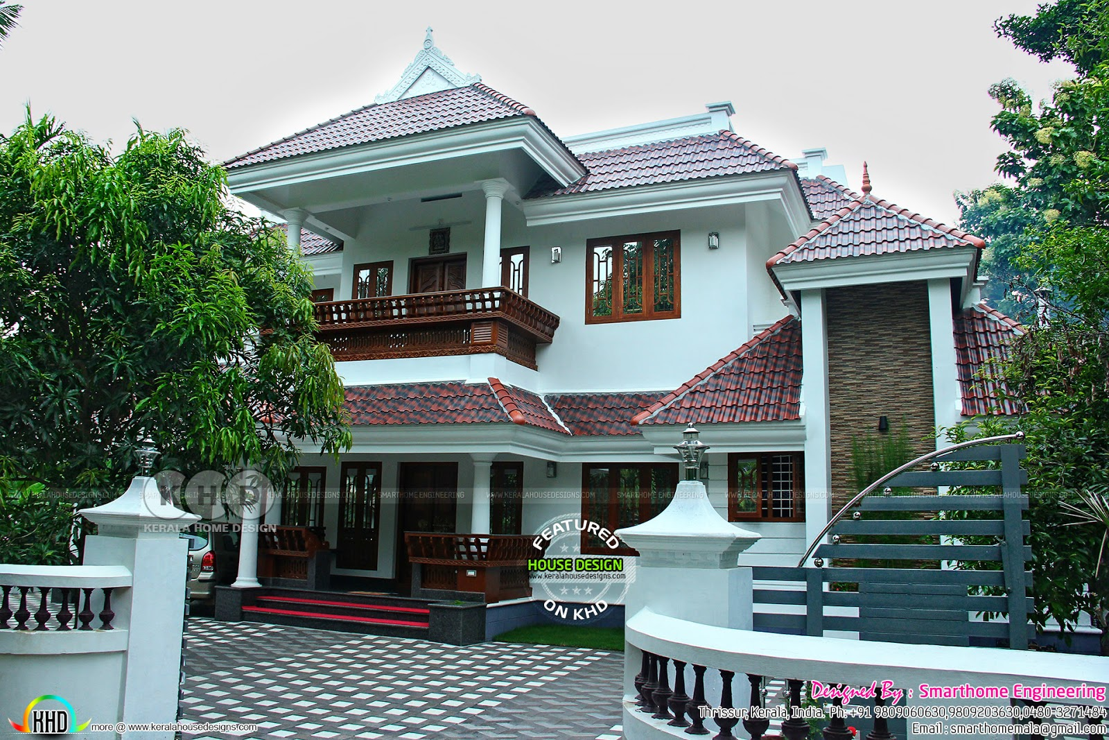 2810 sq ft finished kerala home plan kerala home design for House plans with finished photos