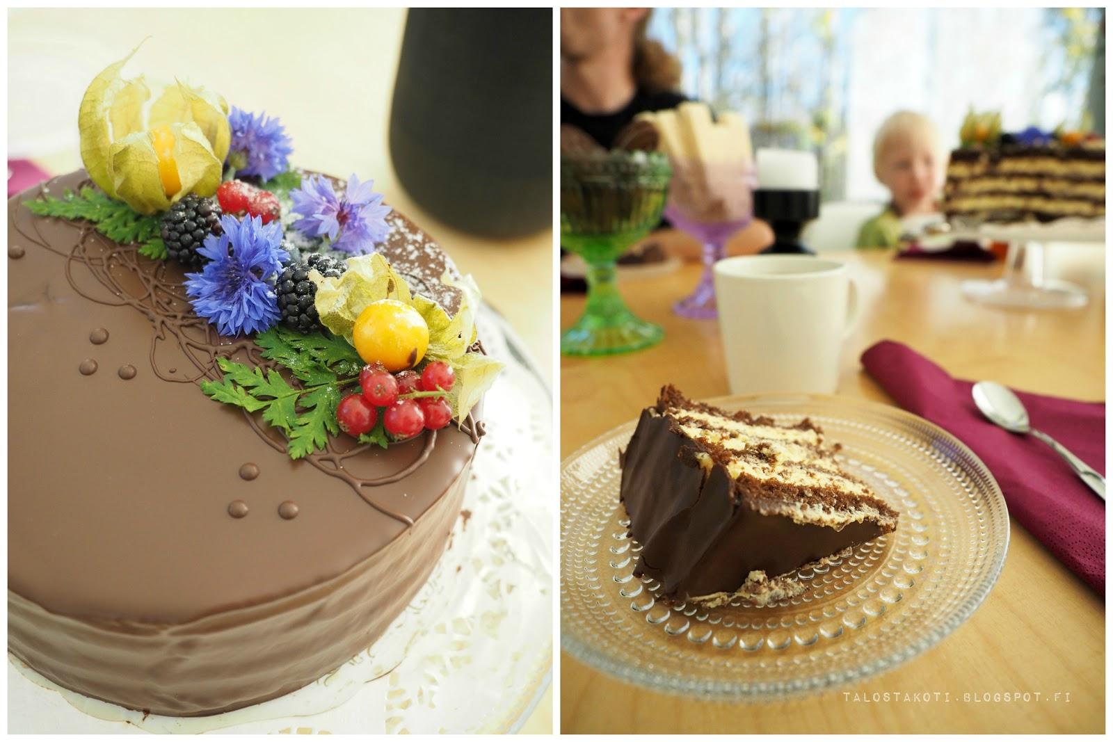 kakku, suklaakakku