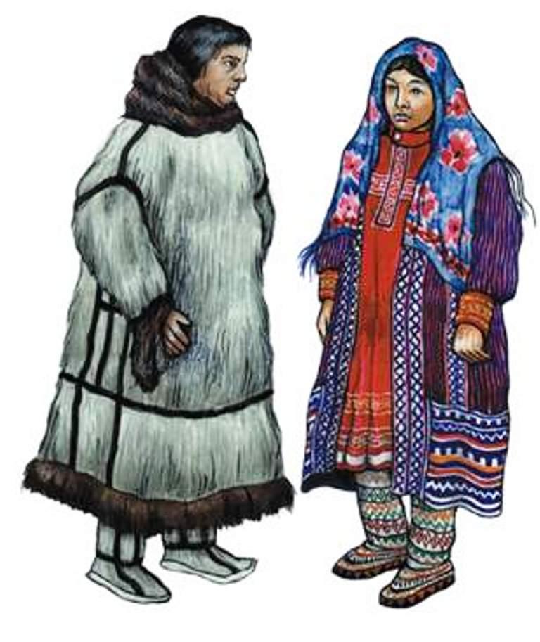 Художественный мир Сибири Мансийские народные сказки