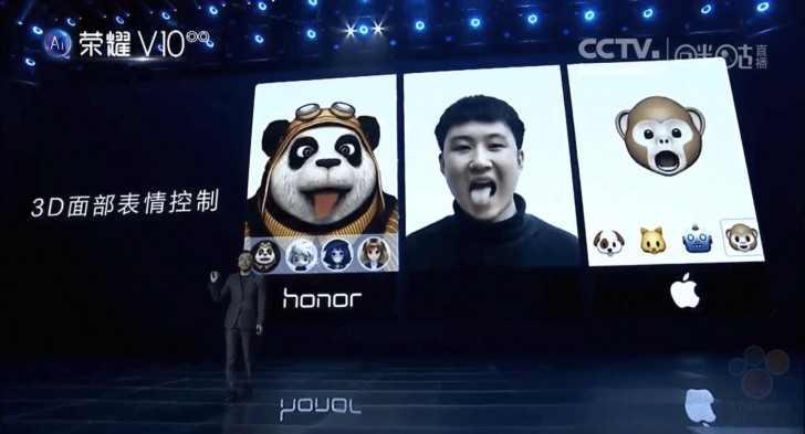 Huawei unveils his version of Apple's Face ID & Animoji tech