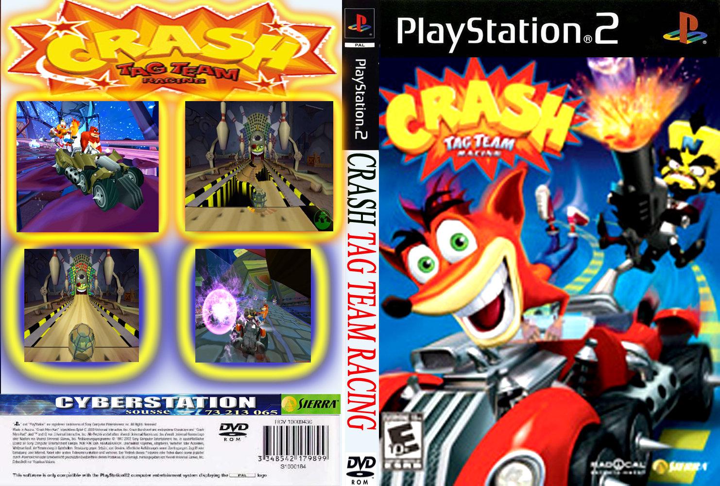 Ok langsung saja untuk Kode Cheat Crash Tag Team Racing PS2 nya: