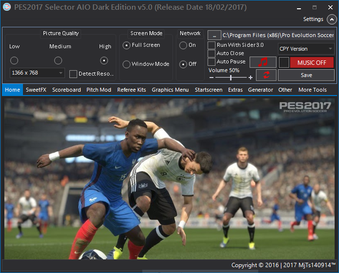 Selector Tool | v5 0 | Pte Patch 4 2 | Pes2017 | Released