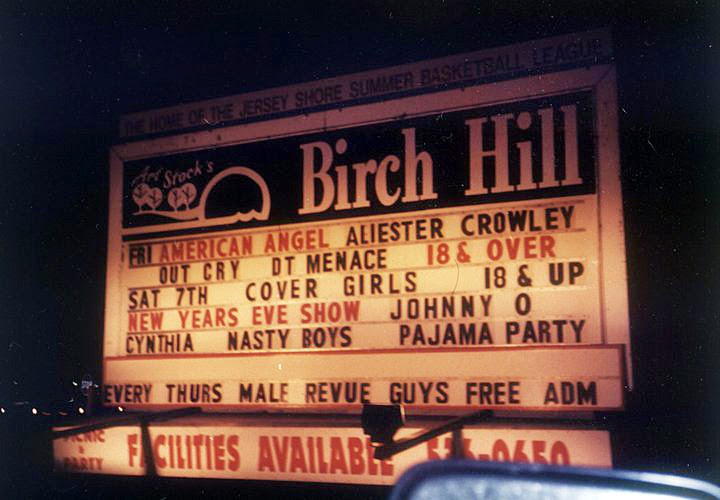 The Birch Hill Night Club in Old Bridge, New Jersey