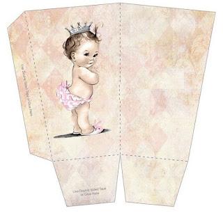 Cajas de Preciosa Bebé para imprimir gratis.