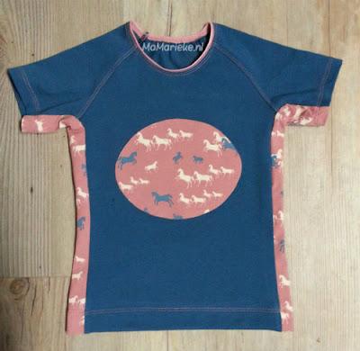 Paarden shirt Ottobre