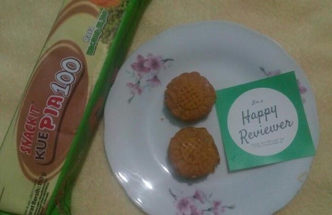 [Review] Snackit Pia 100 Kacang Hijau
