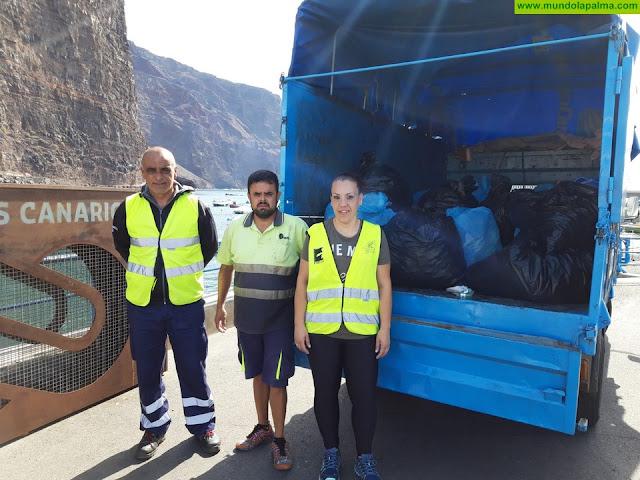 Fundación Isonorte participa en La Gomera en una campaña de recogida de tapones de plástico solidarios