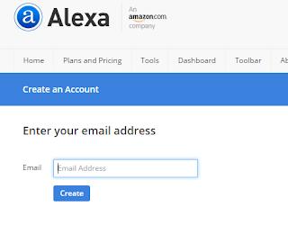 cara klaim website atau blog di alexa