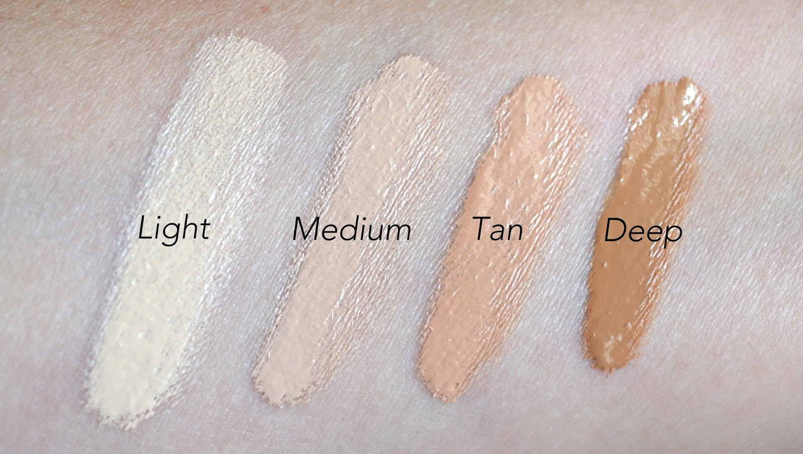 IT Cosmetics Bye Bye Under Eye Anti-Aging Concealer - Swatches and ...