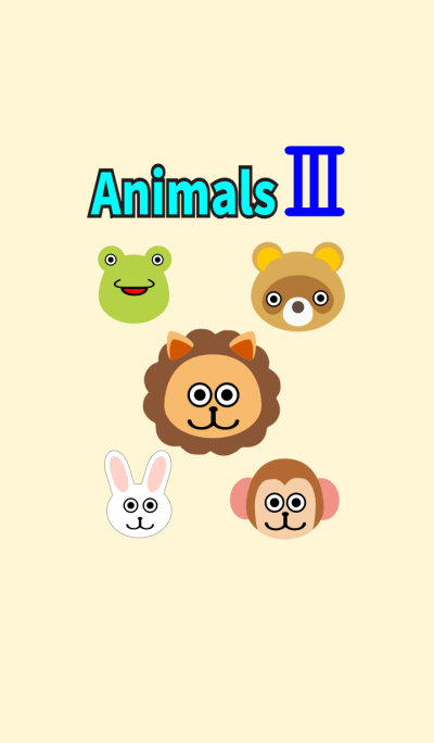 Face of animals3