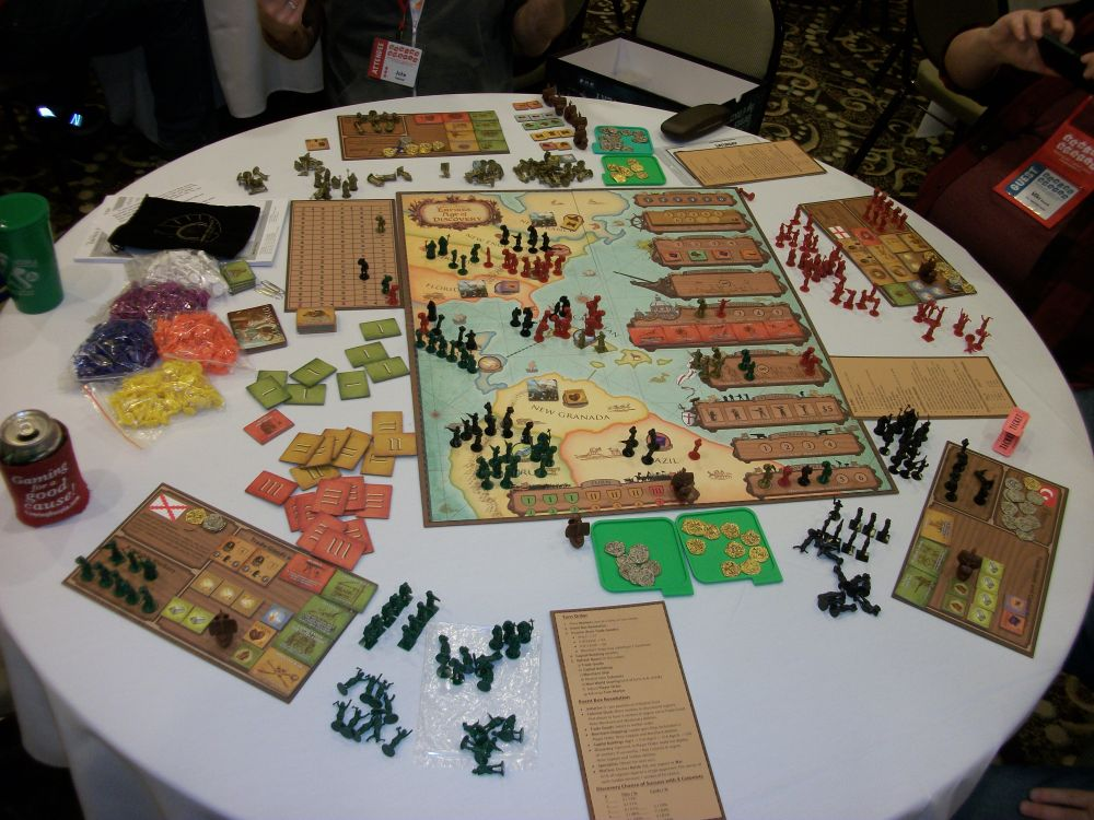 Age Of Empires Iii Is Reborn As Empires Age Of Discovery: MF WARS: Wargaming Wednesday