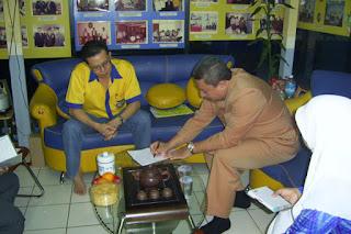 Sofian Tjandra Bersama Ketua Komisi E DPRD DKI Jakarta