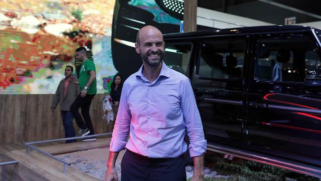 Guillermo Dietrich visitó el 8vo #SalonAutoBA que se realiza en @LaRural_BsAs