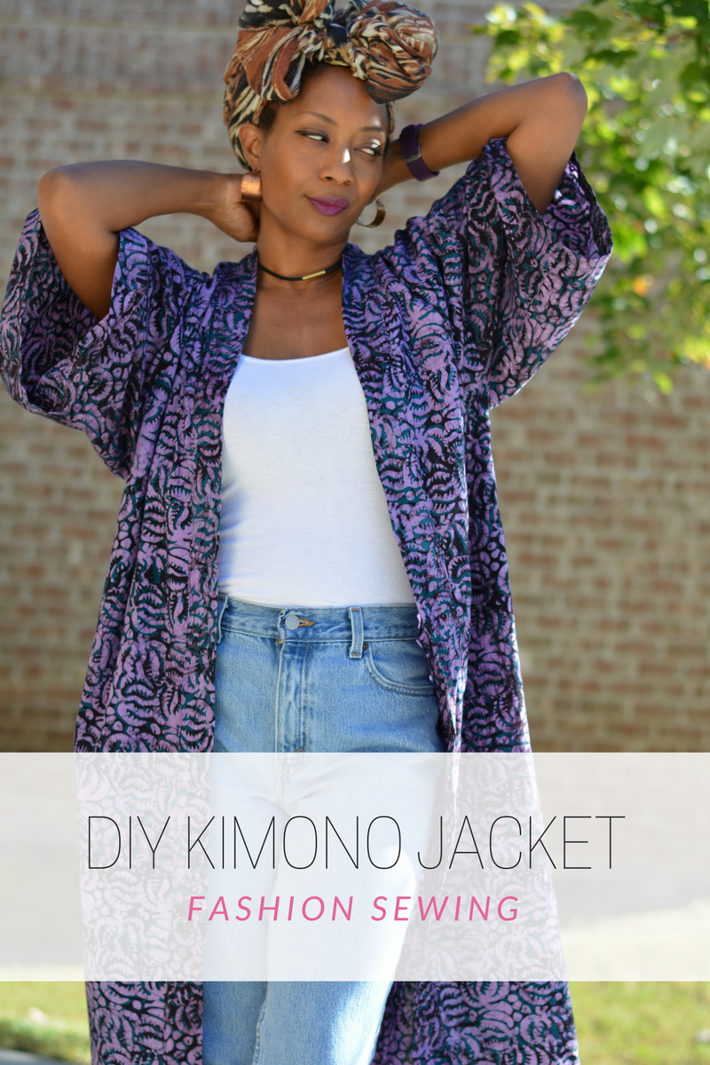 DIY Kimono Jacket  Thriftanista in the City