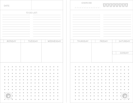 Free Template Designs for Arc and Circa 8.5 x 5.5 Notebooks
