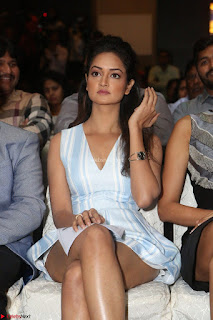 Shanvi Looks super cute in Small Mini Dress at IIFA Utsavam Awards press meet 27th March 2017 73.JPG