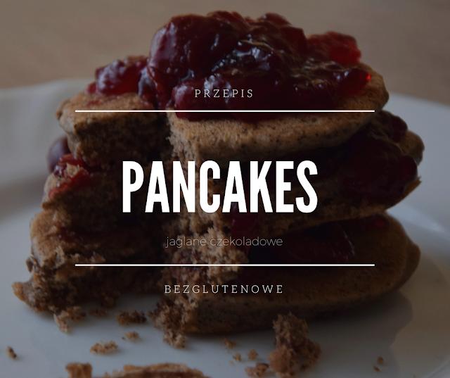 bezglutenowe jaglane czekoladowe pancakes