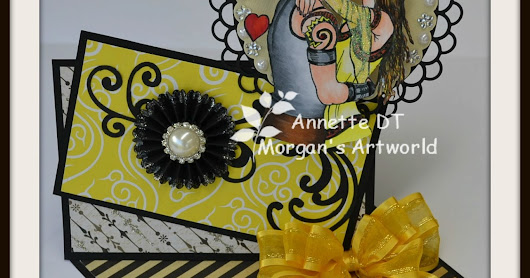 "24th February 2017 ~ Morgan's Artworld Challenge #04 ~ Theme ""For The Ladies"""
