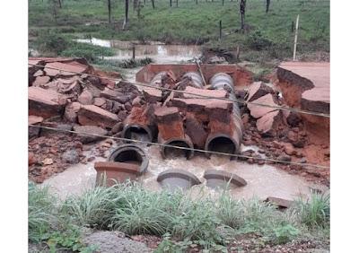desvio entre Axixá e Sítio Novo rompe e rodovia TO-201 volta a ser interditada