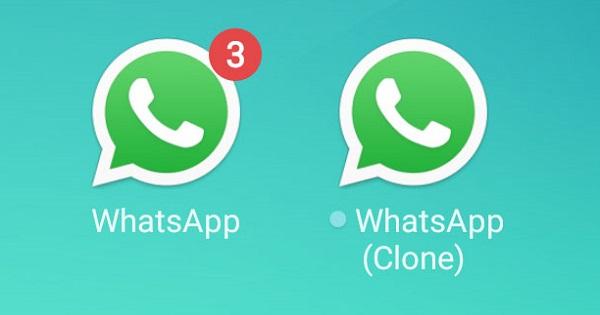 Perbedaan WhatsApp Clone dan Unclone
