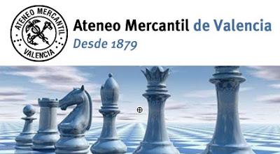 Sección de ajedrez del Ateneo Mercantil de Valencia