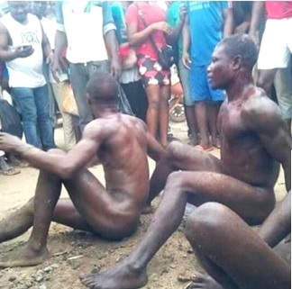 Men Stripped Naked 115