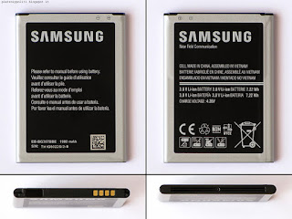 Samsung S4 Mini Plus GT-I9195I, batteria