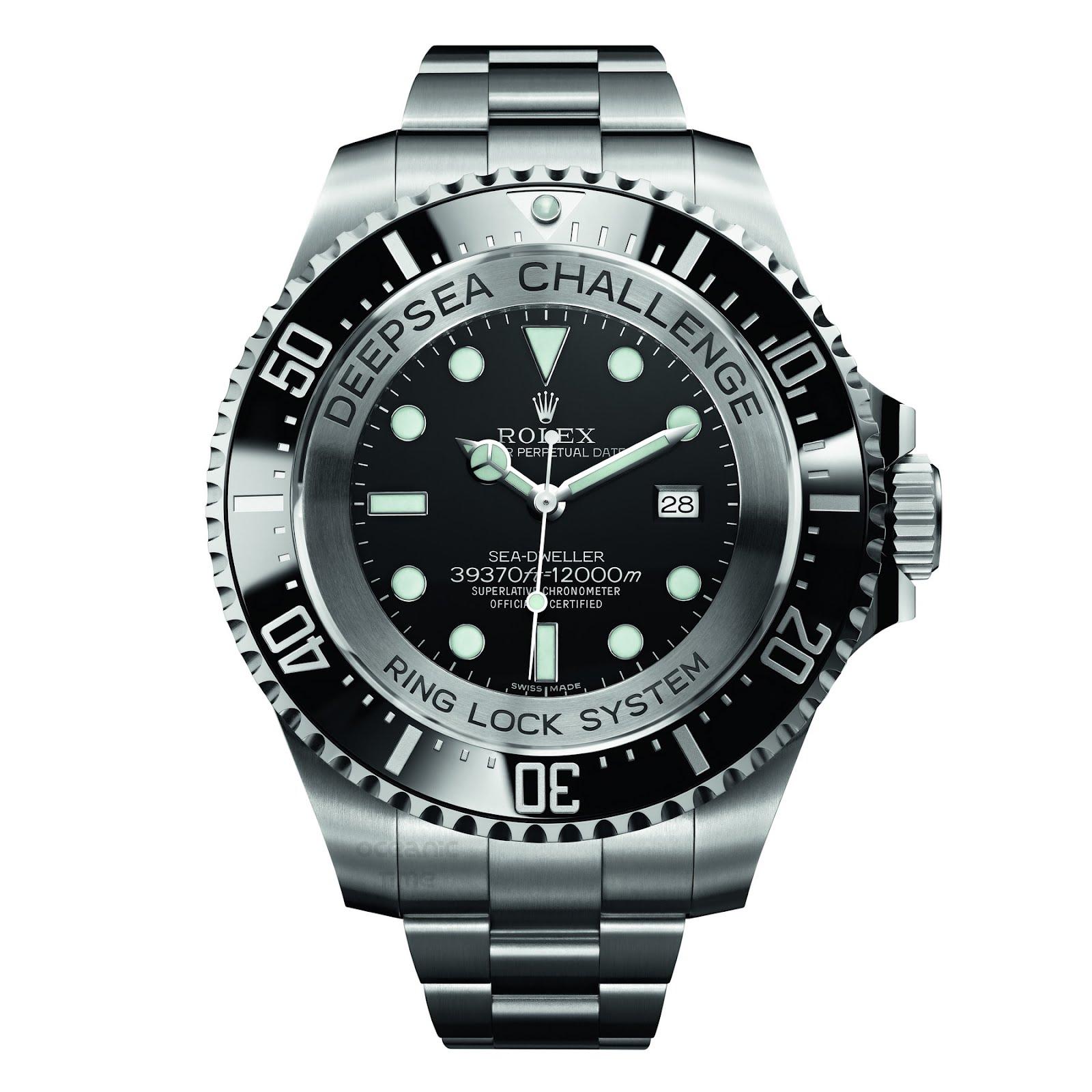 Oceanictime Rolex Sea Dweller Deepsea Challenge Pt 2
