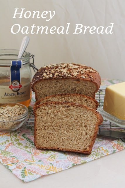 Food Lust People Love Honey Oatmeal Bread Breadbakers