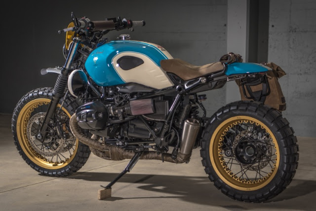 BMW R Nine T By VTR Customs Hell Kustom