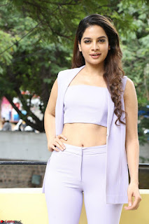 Tanya Hope in Crop top and Trousers Beautiful Pics at her Interview 13 7 2017 ~  Exclusive Celebrities Galleries 057.JPG