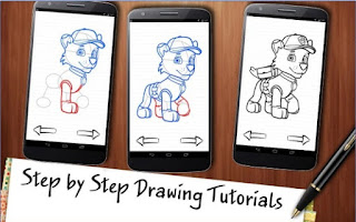 Game Draw Paw Patrol Apk