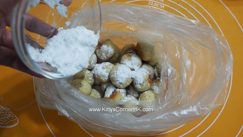 Snowball Walnut Cookies 雪球核桃曲奇 自家烘焙 食譜 home baking recipes