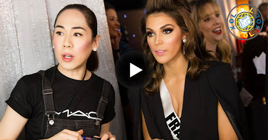 New Miss Universe's makeup artist is a Pinay