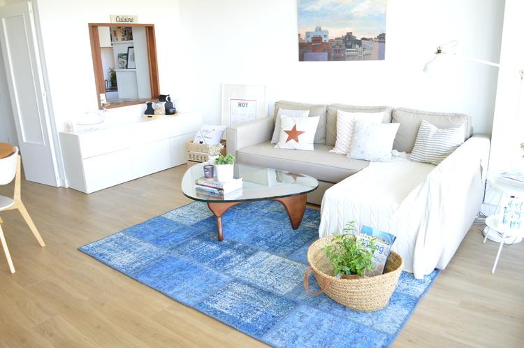 Tips deco c mo combinar la alfombra perfecta para cada estancia tr s studio blog de - Alfombras nordicas ...