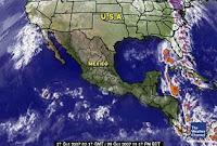 Condiciones del tiempo para México