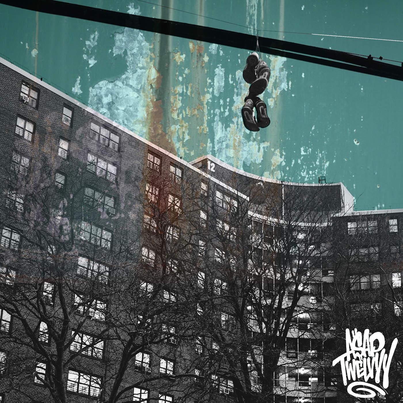A$AP Twelvyy - Diamonds (feat. A$AP Rocky) - Single Cover