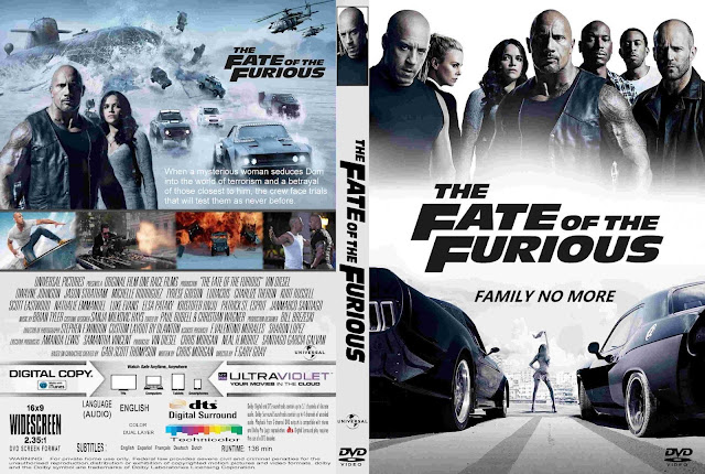 The Fate Of The Furious DVD Cover