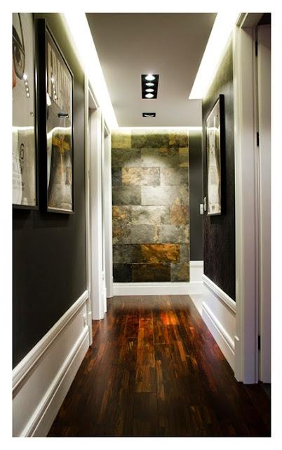Pintura para pasillos oscura