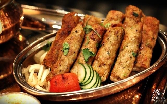Chicken Seekh Kebab Indian Buffet at Hyatt Manila