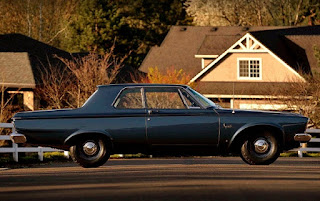 1963 Plymouth Savoy Max Wedge Side Right