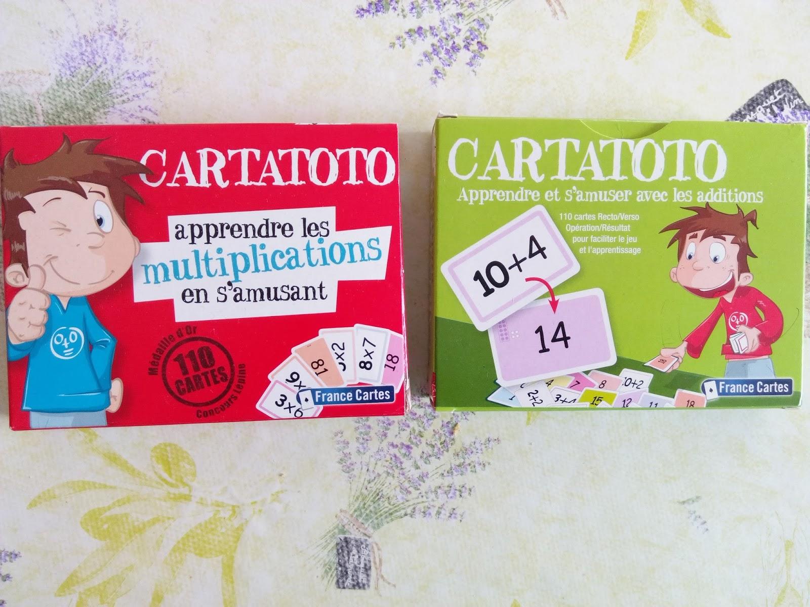Ma tribu de jumeaux on r vise malin avec des cartes - Apprendre les tables de multiplication en s amusant gratuitement ...