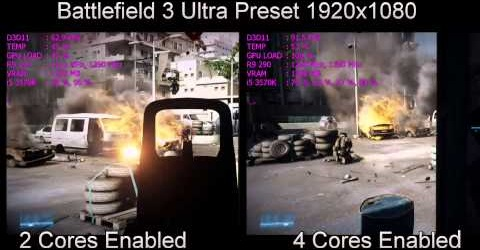 Dual core vs Quad core Graphics